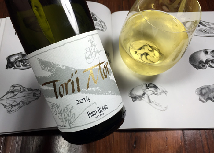 Torii Mor Pinot Blanc 2014 Oregon on Pig & Vine review Amy C. Collins