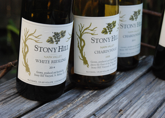 Stony Hill White Riesling 2014, Napa Spring Mountain