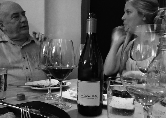 "Philosophical discussion on the merits and falsities of the ""wine is art"" approach with Ron Washam and Amanda Barnes."