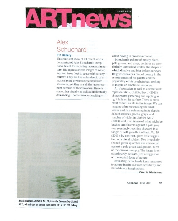 Art News Review June 2013