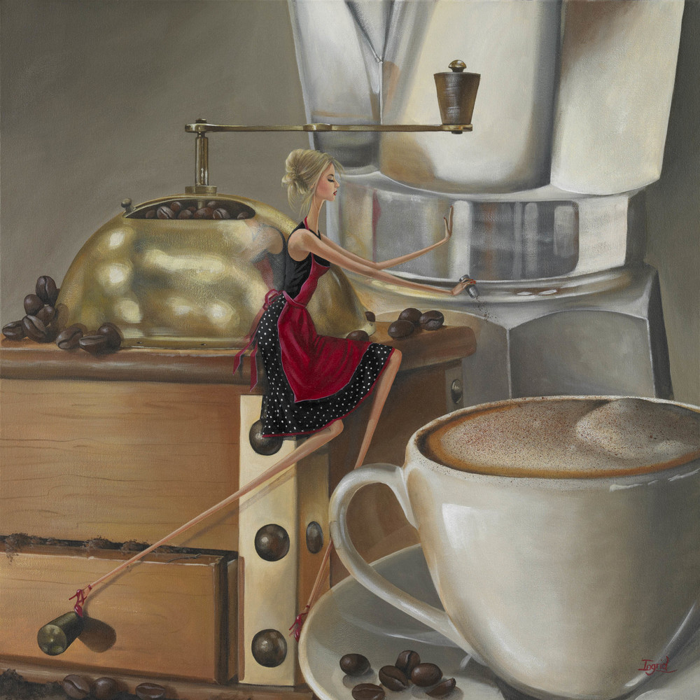 Little Barista - SOLD