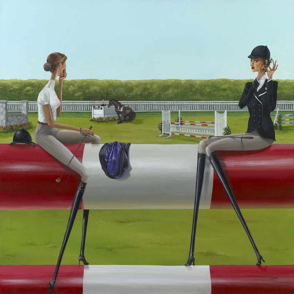 Show Jumping - SOLD