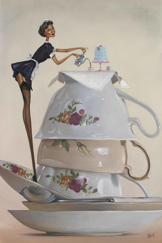 More Tea Vicar - SOLD