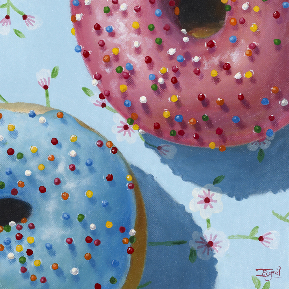 Summer doughnut