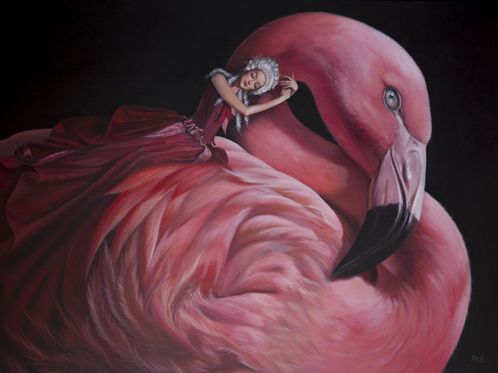 Flamingo - SOLD