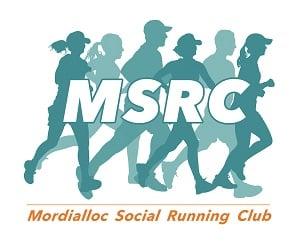 MSRC Mordialloc Social Running Club Logo