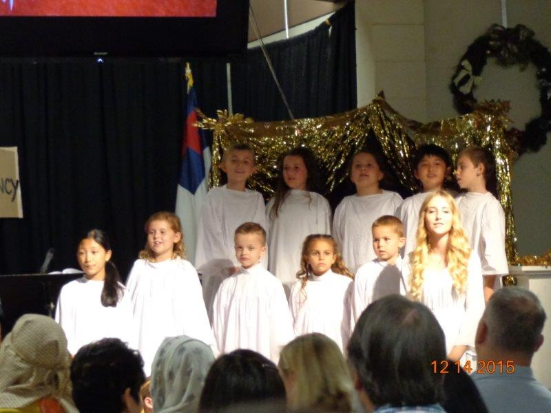 Children's Choir Singing at Mililani Baptist Church