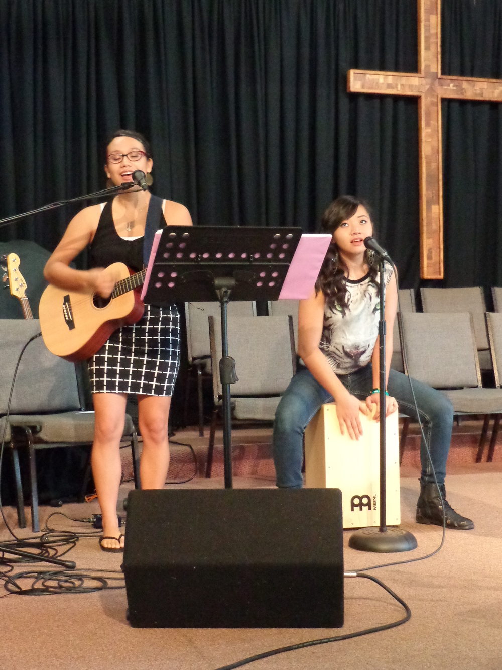 Youth Playing for Contemporary Worship at Mililani Baptist Church