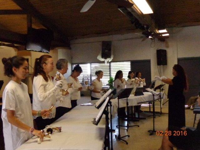 Handbell Choir at Mililani Baptist Church