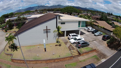 HOW DO I GET HERE? - MBC is located off Kamehameha Highway and Lanikuhana Avenue across from Hanalani SchoolsJust look for the big cross! Or search for us...94-293 Anania DriveMililani, HI 96789