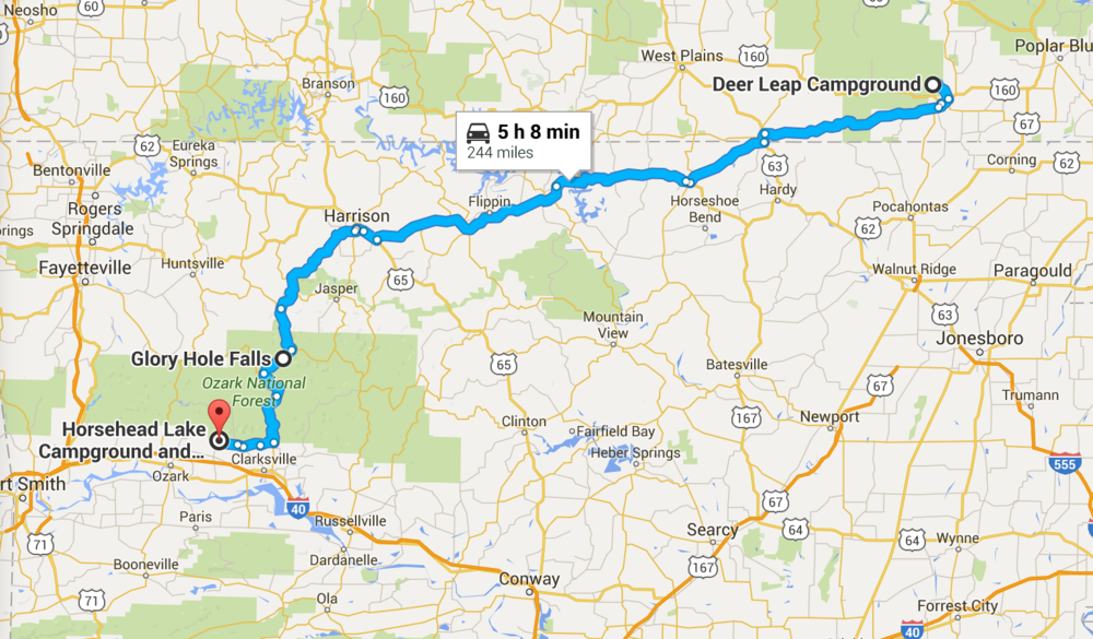 Chicago to Austin Stop 3: Ozark National Forest — Revert2Simple