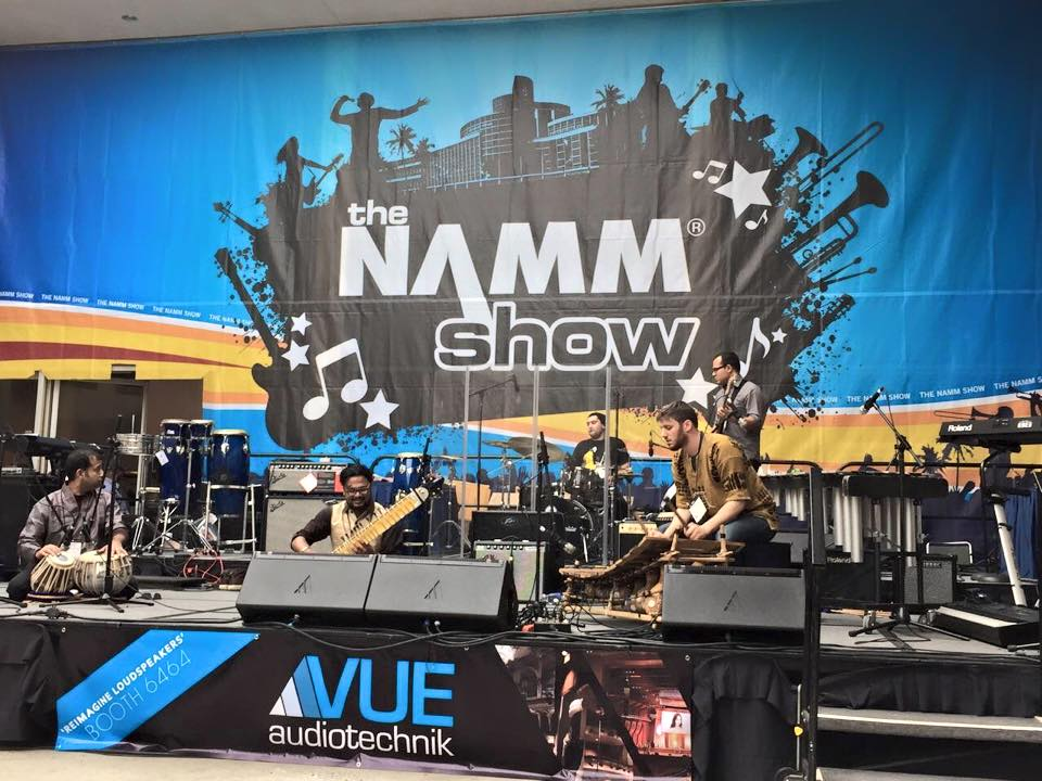 Dhara World Music at the NAMM Show 2015