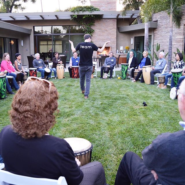 "Teaching ""Patrons at Play"" Percussion Workshop"