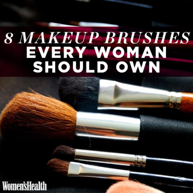 8 Makeup Brushes Every Woman Should Own