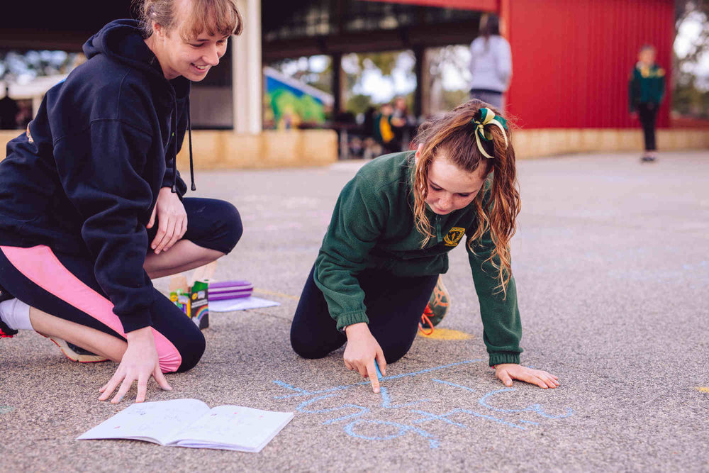 The Rural Program - Our Rural Program provides one-on-one tutoring to students through sending volunteers out to rural and remote communities during a week-long visit to a school, with a specific focus on mathematics.
