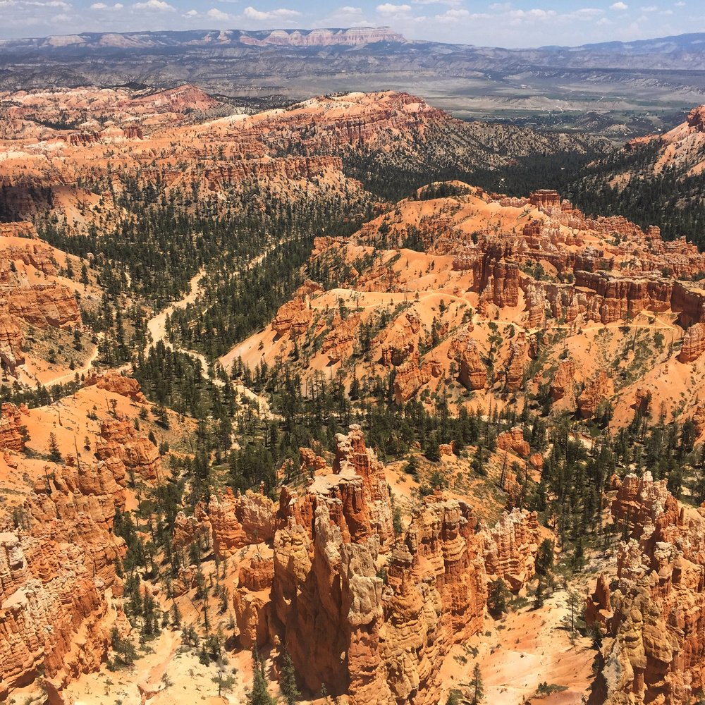Bryce Canyon from Inspiration Point.