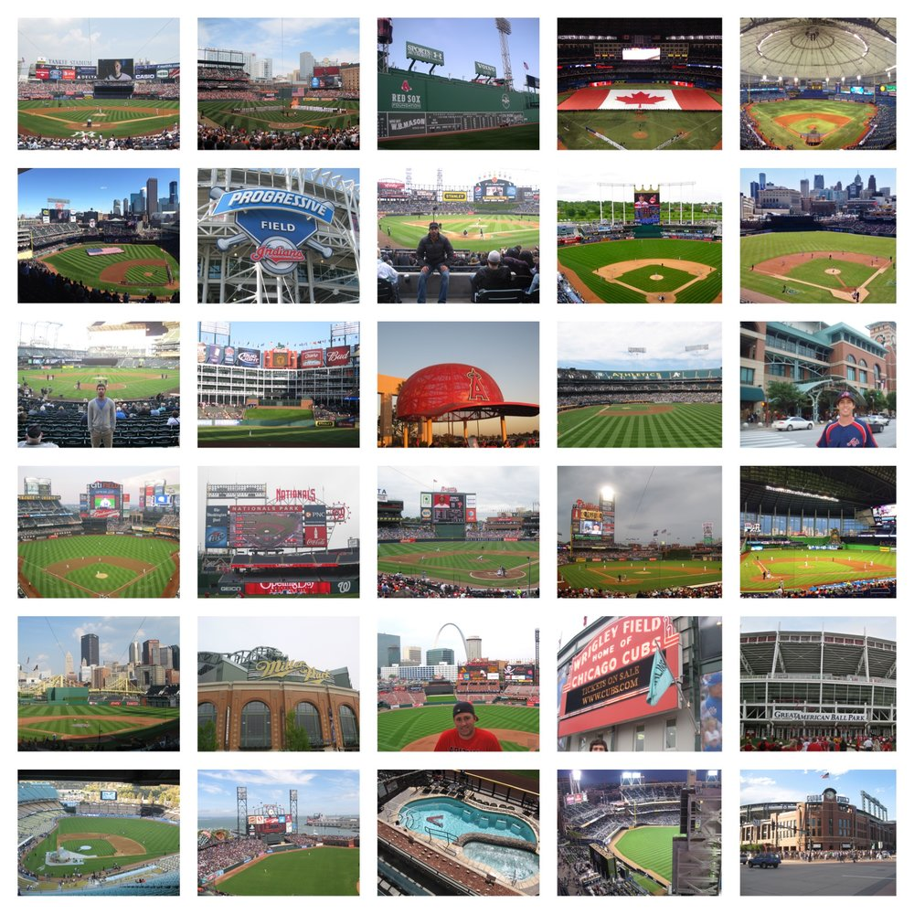 All 30 MLB Stadiums