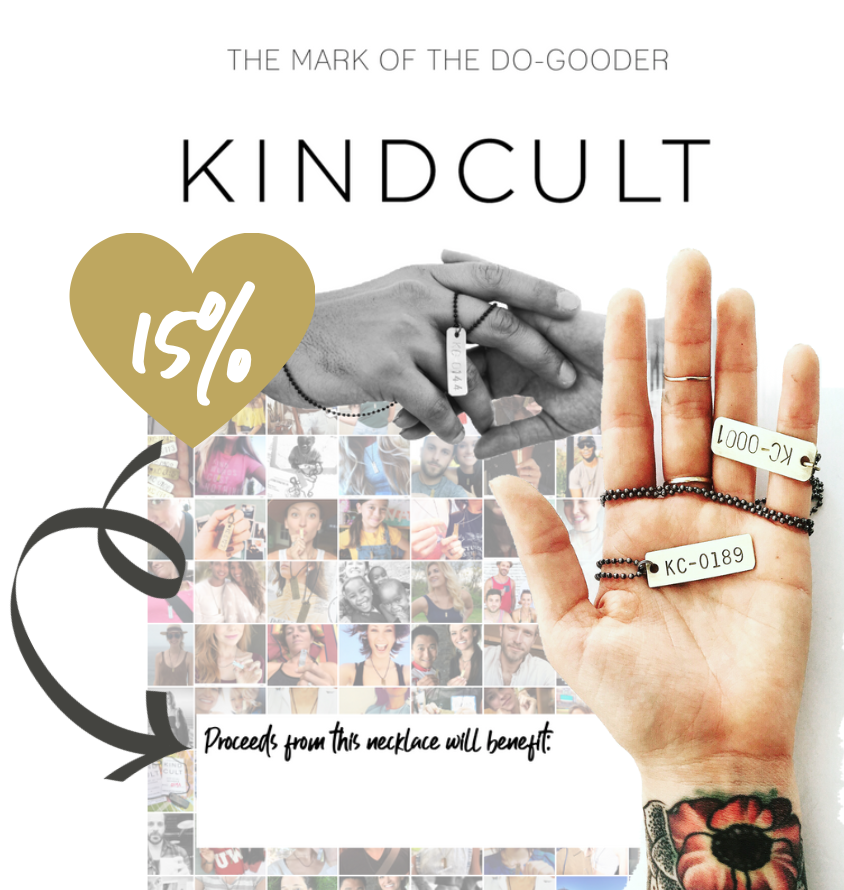 KINDCULT CHARITY GIVE BACK