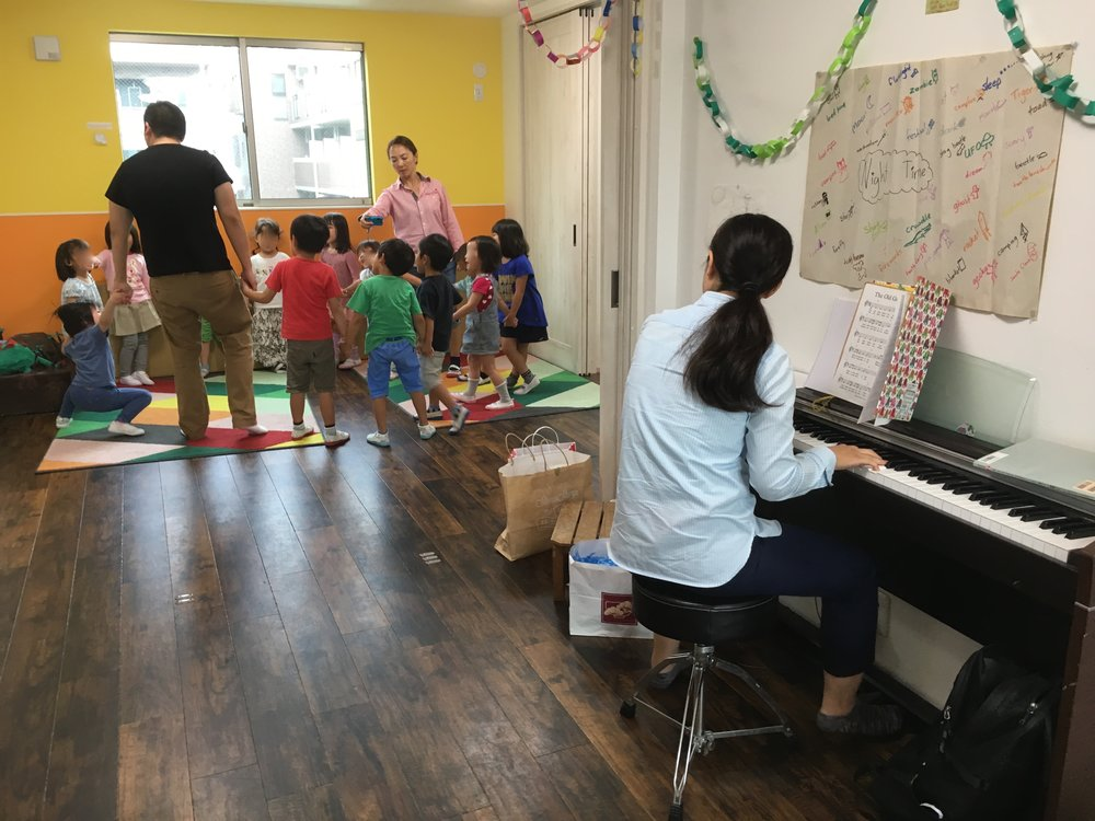 One regular music class in action.