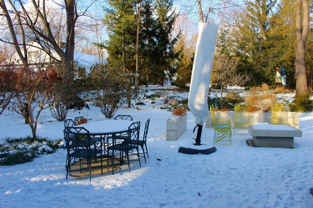 Backyard Entertainment Space