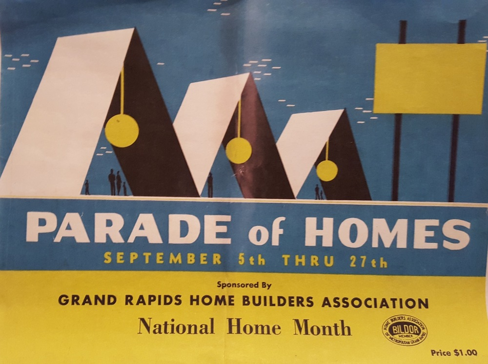 Cover of the original 1959 Parade of Homes Brochure
