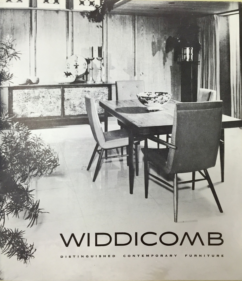 In 1959, Nakashima Designed The Origins Collection For Widdicomb. Though It  Is More Stylized Than His Studio Work, The Pieces Feature Rare Woods Such  As ...