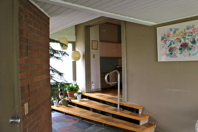 Front entry Firant Family Home.  Photo by Pam VanderPloeg