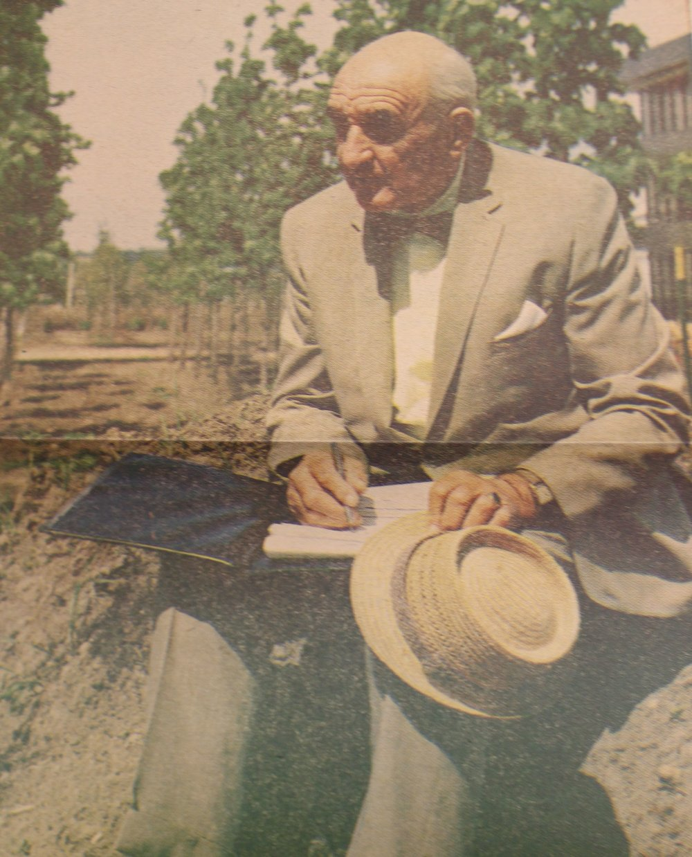 Fred See, Park Superintendent was integral to the project