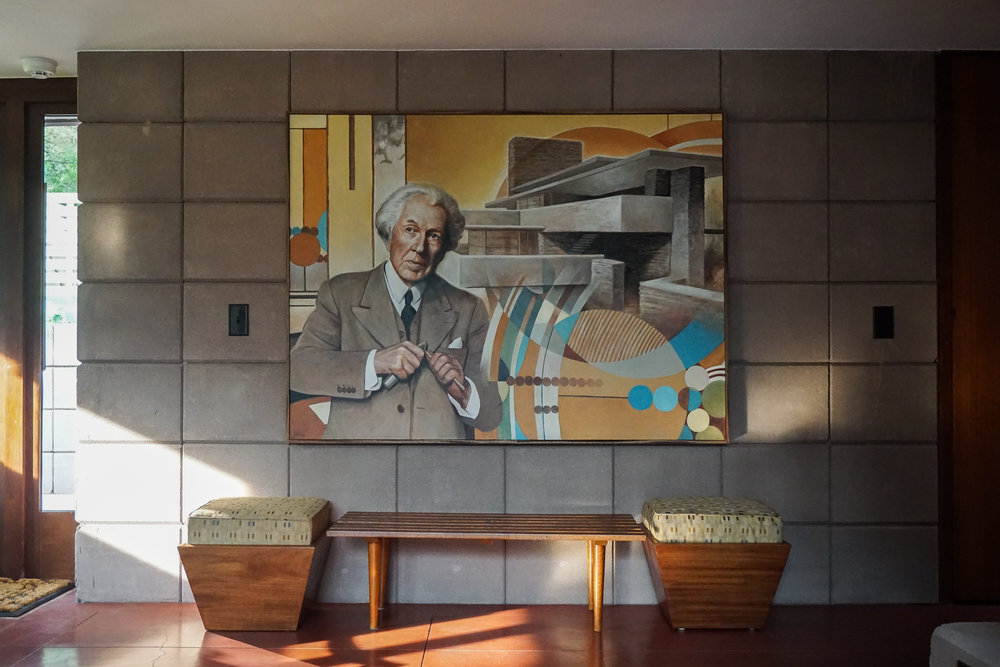 Living Room and Frank Lloyd Wright