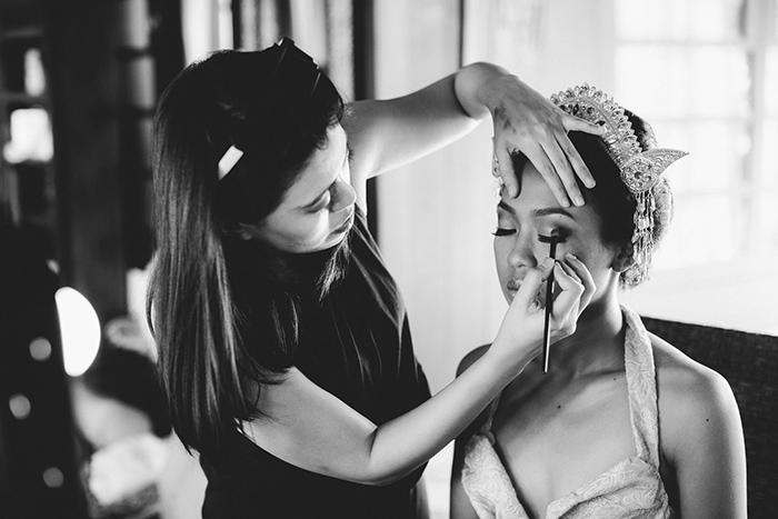 Bali Destination Wedding - Bali Amory Wedding  Hair and Makeup