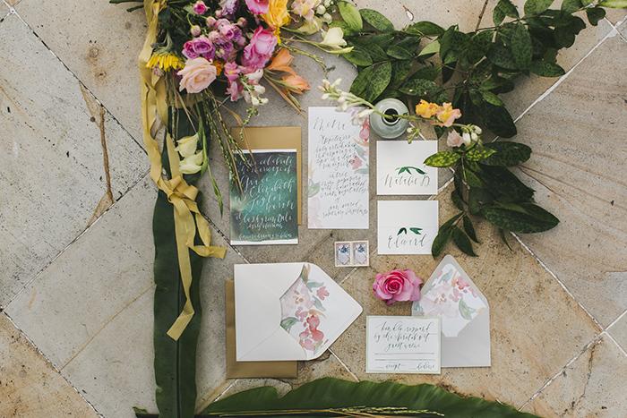 Bali Destination Wedding - Wedding Stationery