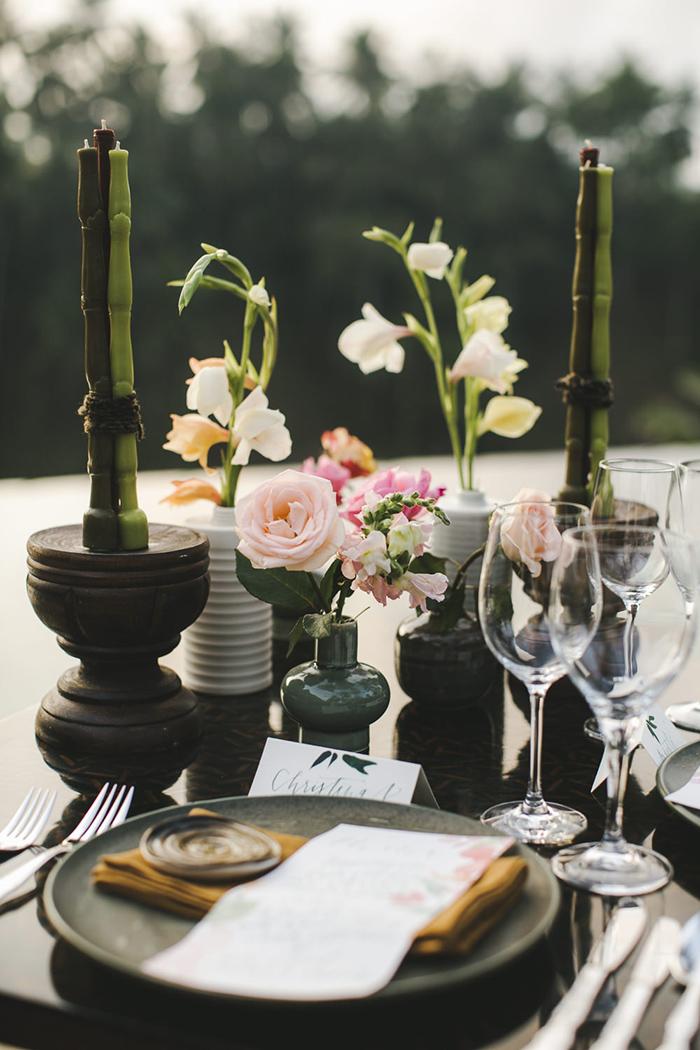 Bali Destination Wedding - Gaya Ceramics, The Natural Light Candle Company