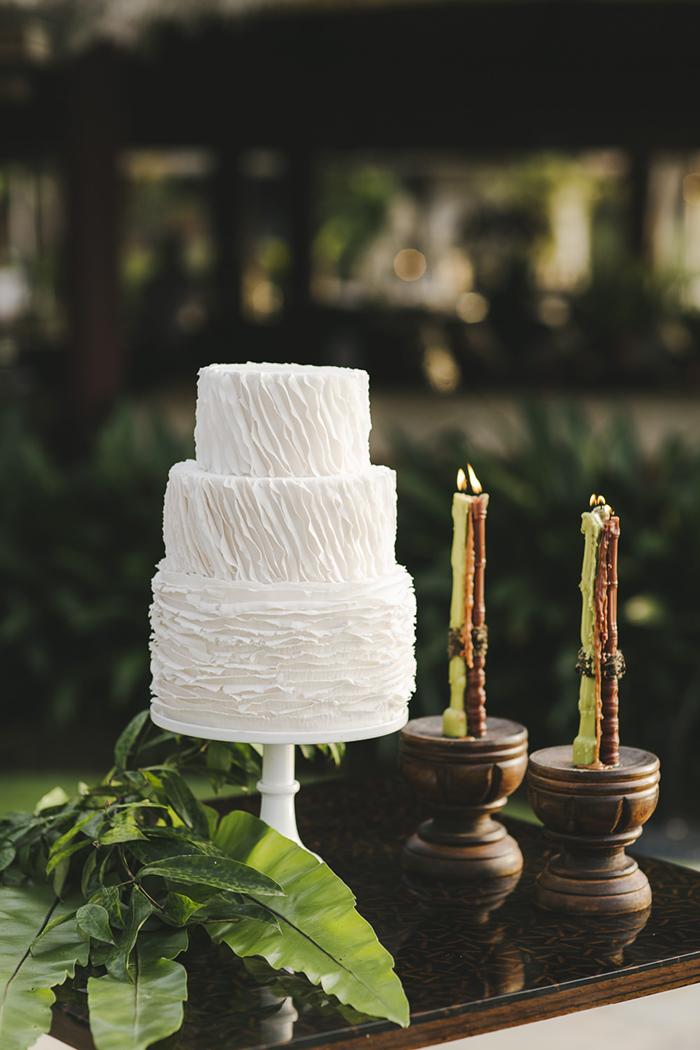 Bali Destination Wedding - Creme de la Creme Cake, The Natural Light Candle Company