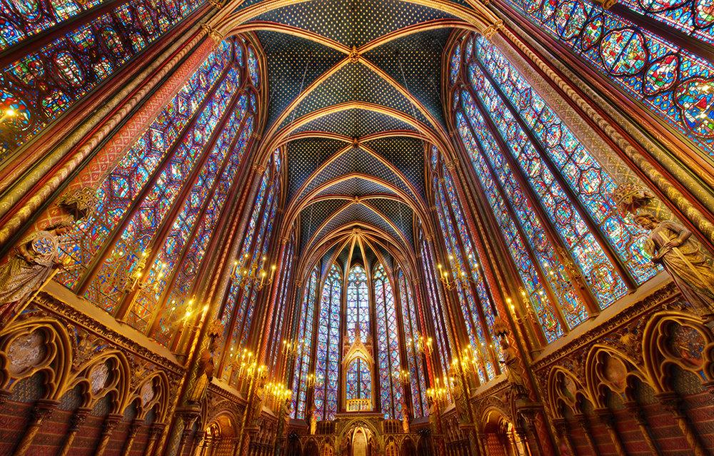 Well Travelled Bride Paris Honeymoon Guide Sainte Chapelle