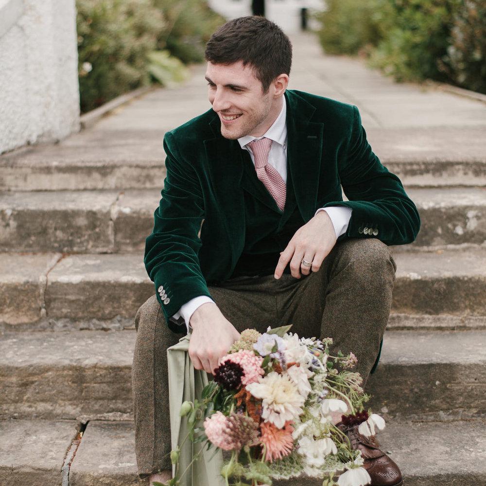 Well Travelled Bride Scottish Highlands Scotland Groomswear Wedding