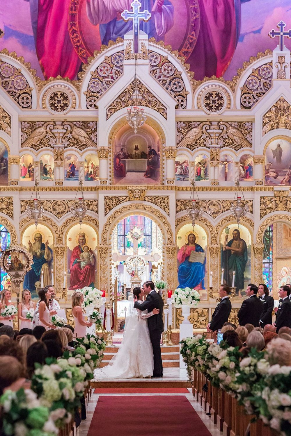 Well Travelled Bride Constance Peterson and Matthew Pavlovich Greek Orthodox Los Angeles Wedding