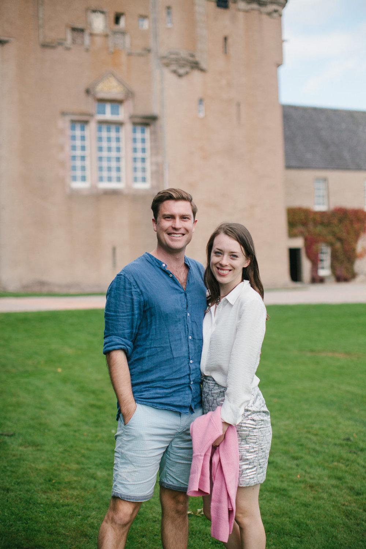 Well Travelled Bride Scottish Highlands Kelsey and David