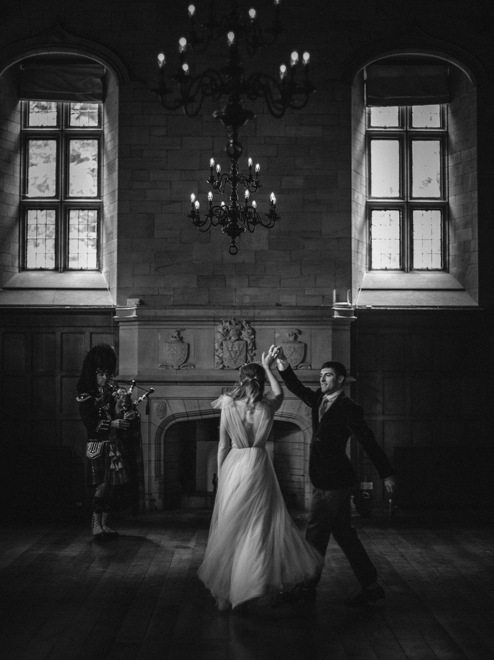 Well Travelled Bride Scottish Highlands Wedding Bride and Groom