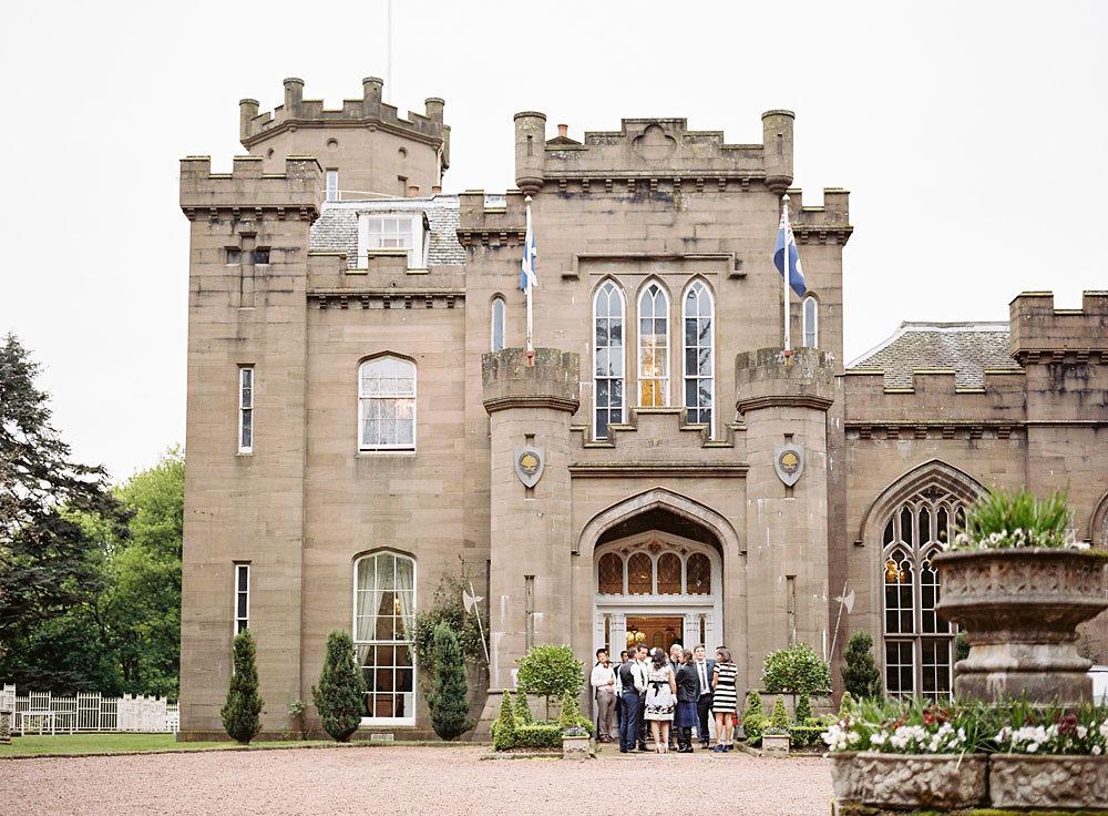 Well Travelled Bride Scottish Wedding Castle