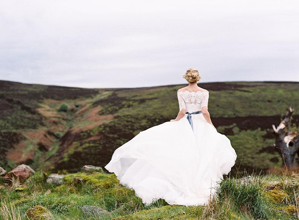 Well Travelled Bride Scottish Highlands Wedding Bride