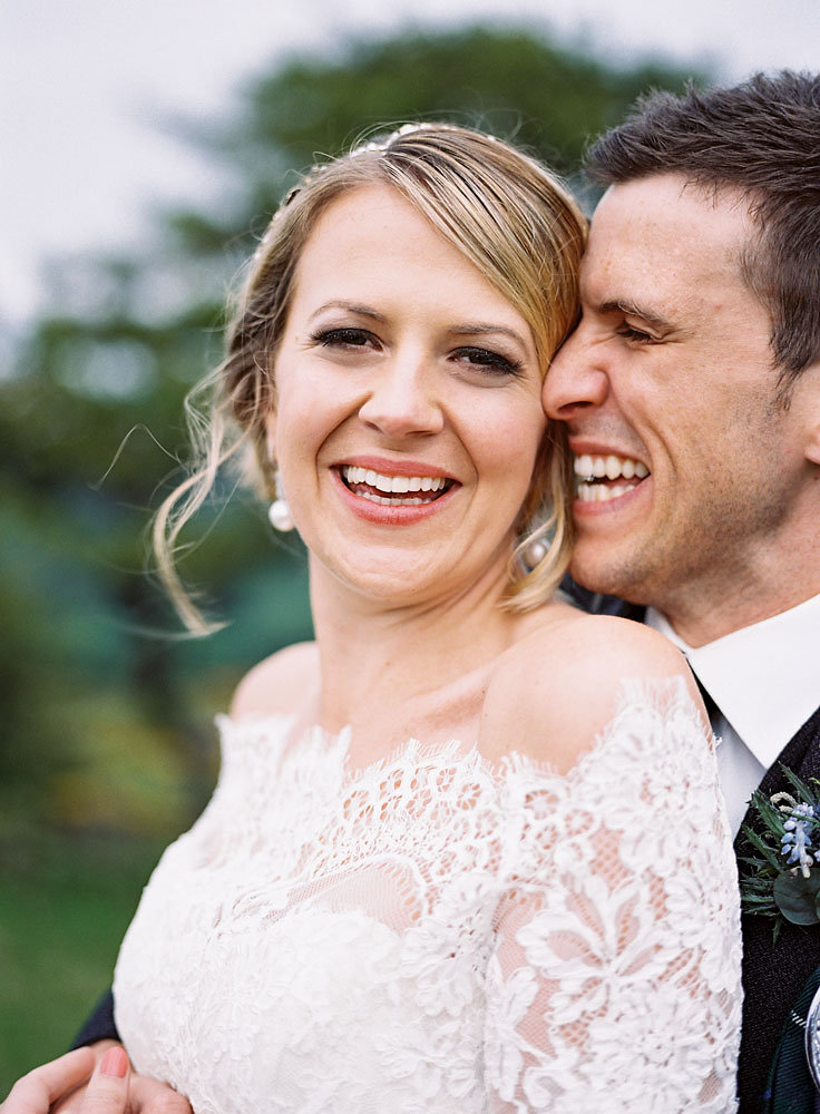 Scottish Highlands Wedding Well Travelled Bride Couple