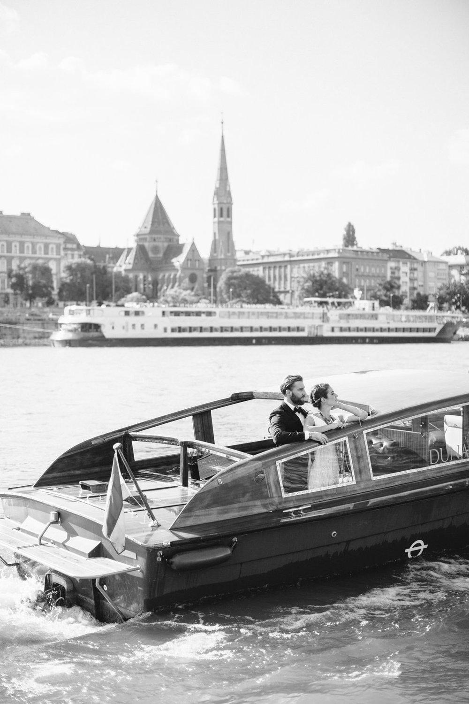 Well Travelled Bride Budapest Wedding Speedboat Danube River.jpg