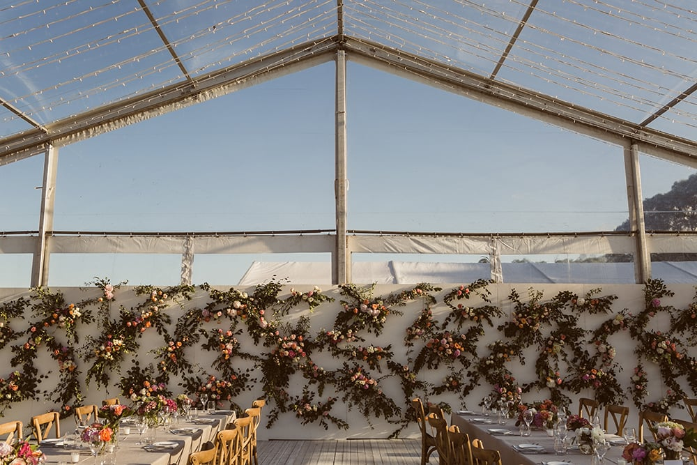 Well Travelled Bride Destination Planner CL Weddings & Events Flower Wall Noosa.jpg