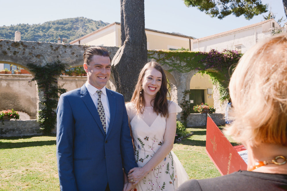 Well Travelled Bride Amalfi Elopement Kelsey Genna David Palfreyman Ceremony.jpg