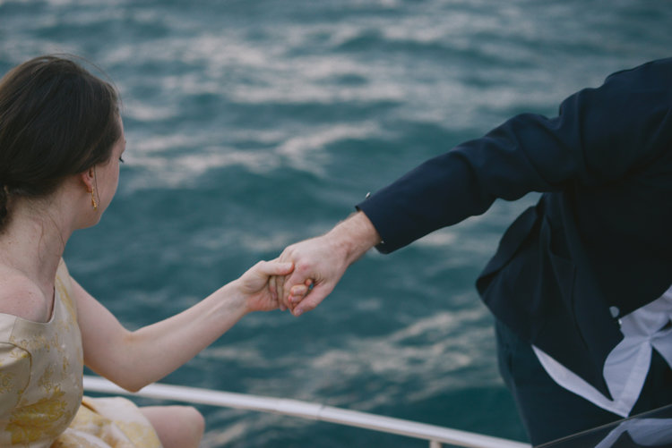 Well Travelled Bride Amalfi Coast Honeymoon Boat.jpg