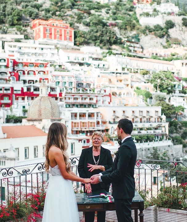 A Seasoned Officiant You Can Trust - We know that one of the most difficult checklist items to arrange when planning an international wedding is researching and booking a legal officiant. But, luckily for our well travelled brides dreaming of eloping under the Italian sun, we found a gem on the Amalfi Coast in marriage celebrant Giovanna D'Amato. Not only was she the officiant of choice for Well Travelled Bride founder Kelsey Genna and her husband David, she also came highly recommended by many of the trustworthy vendors that we worked with while in Ravello. We cannot stress highly enough the importance of a celebrant that you know you can trust when planning a wedding in a country that isn't your own. He or she will guide you through the legalities of your country or province of choice, provide language translation for you when needed, and make sure that all your questions are answered and your love is celebrated on your big day.Phone: +39 329 2077835Email: giovannadamato@alice.it
