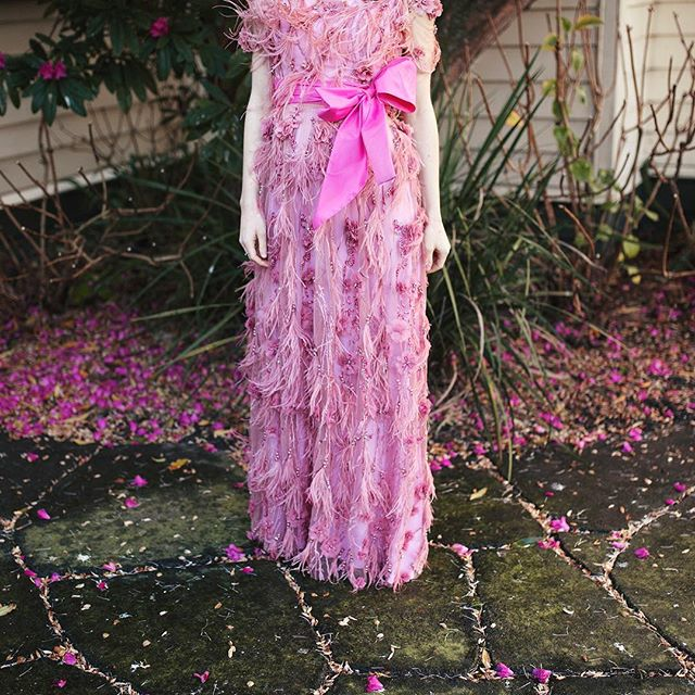 Anniversary dress! #pink #hidingabump #kelseygenna