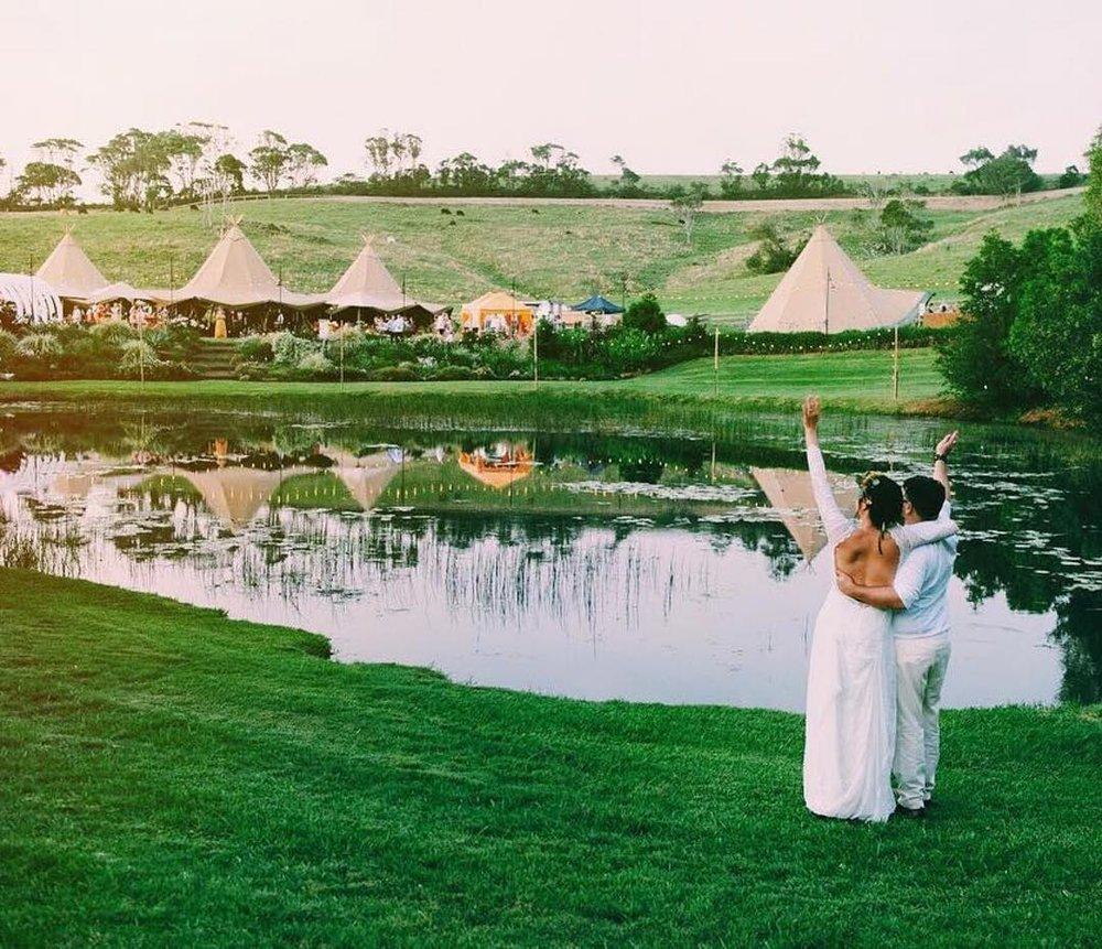 2 Well Travelled Bride Byron Bay Tipi Weddings Wedding Hire Services Byron Bay.jpg