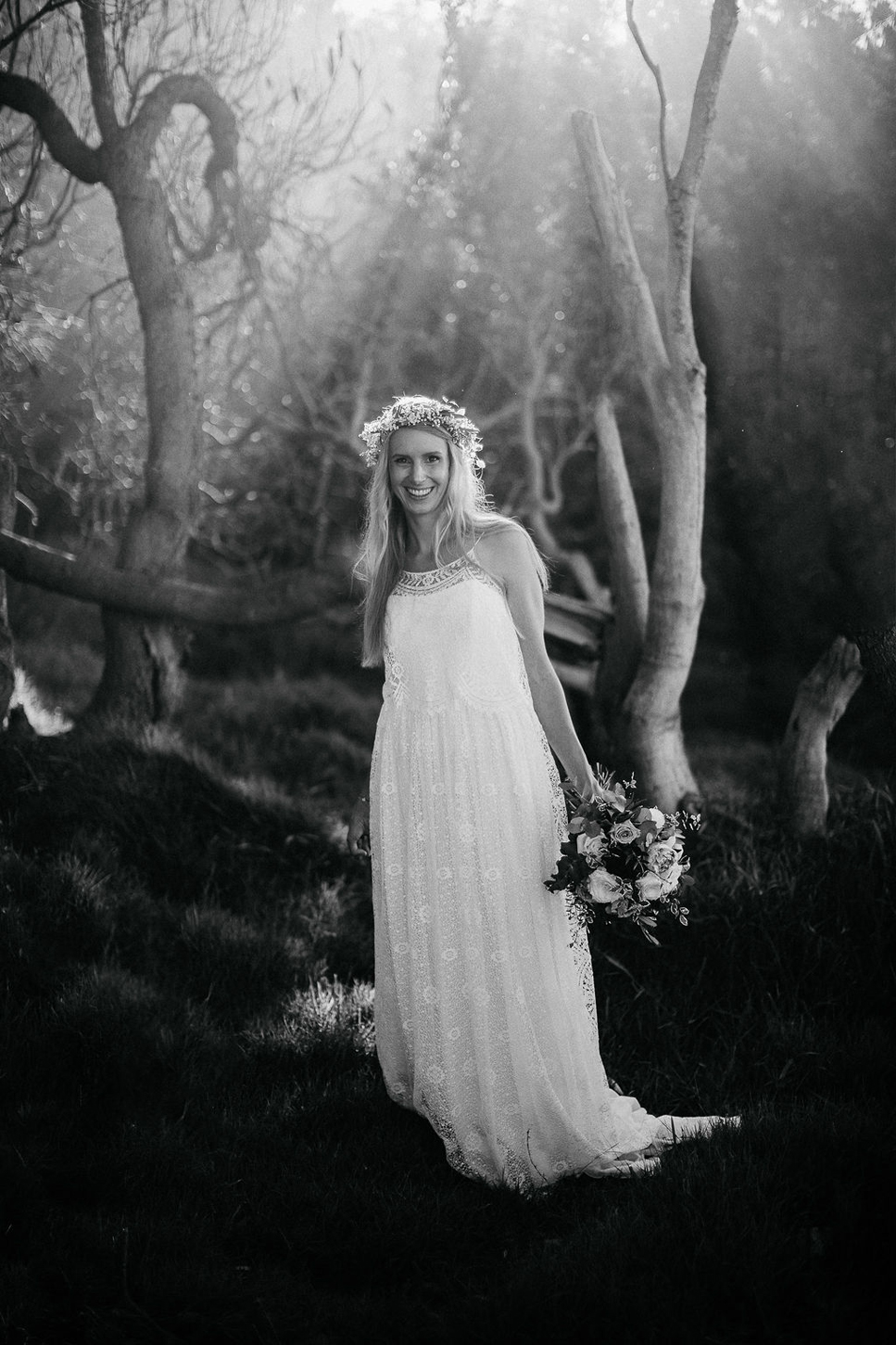 """Images that Capture Each Fleeting Moment - Wedding photography fads come and go, but Byron Bay based photographer Nina Claire has an eye for capturing the intimate, fleeting moments you will want to remember forever. Years of experience have honed her ability to slip into the background of your day, often unseen, and create magical portraits with as little need for """"posing"""" as possible. You will be able to relax, celebrate, and know that Nina's camera is nearby to document every emotion.Visit WebsiteByron Bay, AustraliaPhone: +61 4 2258 2803Email: ninaclairephotography@gmail.com"""
