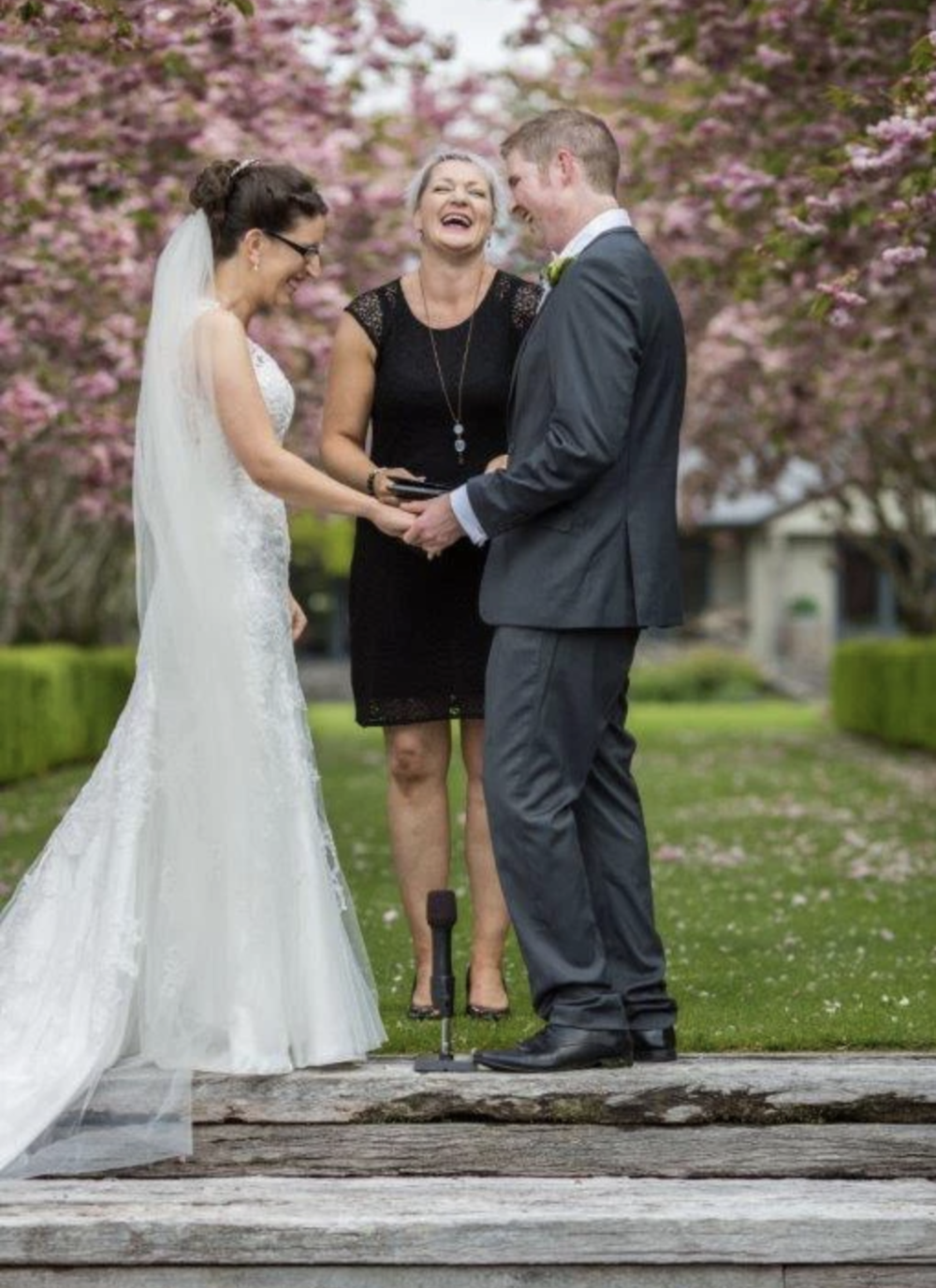 Finally, an Experienced Celebrant You Can Trust - We know it's difficult to trust a stranger with the personal details of your special day. That's why we suggest all of our NZ couples get in touch with experienced celebrant Sharyn Payne as soon as possible! Sharon is relaxed and down-to-earth, as well as enthusiastic about each couple's unique story. No matter your background or beliefs, rest assured she will create a ceremony program that honors your core values and puts you both at ease.Visit WebsiteInvercargill, New ZealandPhone: +64 27 489 4747Email: sharynpaynecelebrant@gmail.com